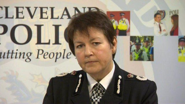 Chief constable Jacqui Cheer