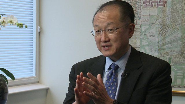 President, World Bank, Jim Yong Kim