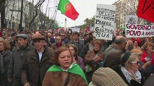 Anti-austerity protest