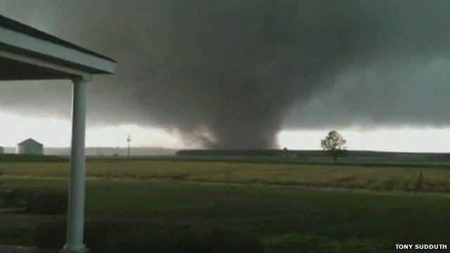 Tornado in Mississippi