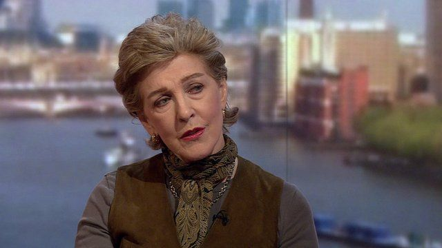 Actress Patricia Hodge on The Andrew Marr Show