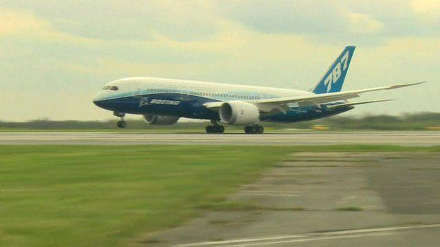 Boeing 787 Dreamliner aeroplane