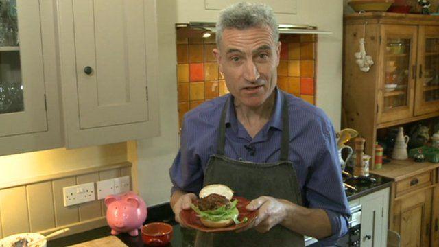 Brian Milligan in kitchen