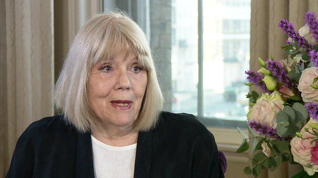 Dame Diana Rigg on The Andrew Marr Show