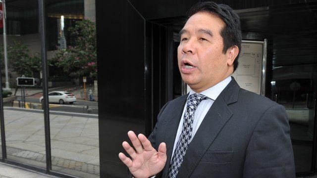 Hong Kong tycoon Carson Yeung