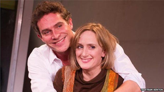 Mark Umbers and Jenna Russell