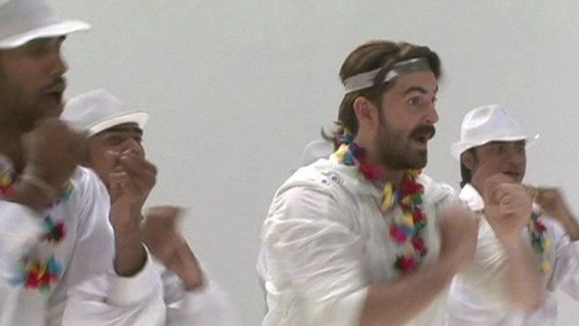 Bollywood dance sequences