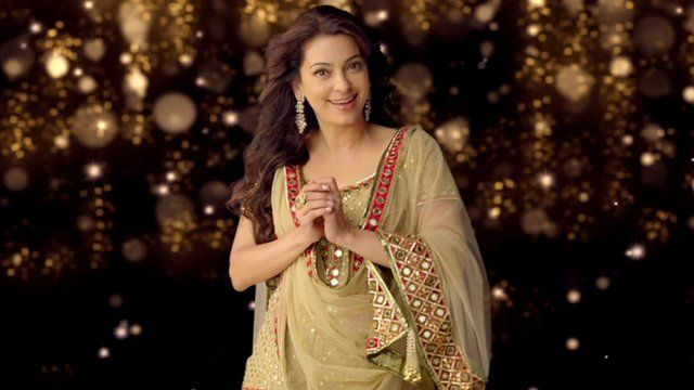 An Indian actress starring in a Bollywood production