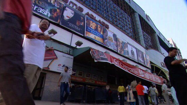 A cinema in India