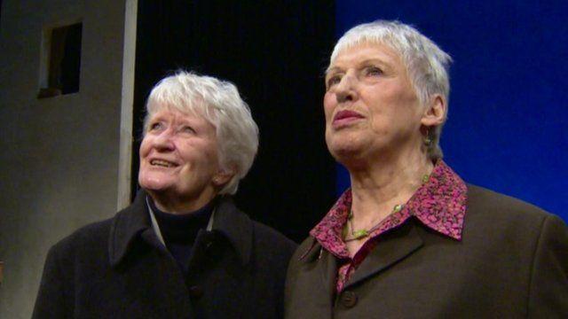 Nan Murray and Margaret Smyth