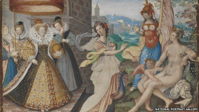 Elizabeth I painting