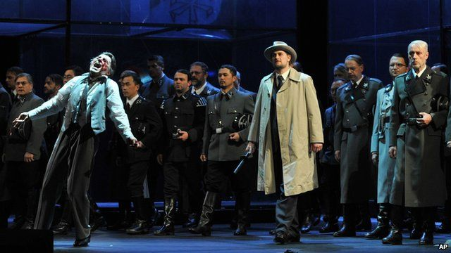 A production of Wagner's Tannhauser in Dusseldorf