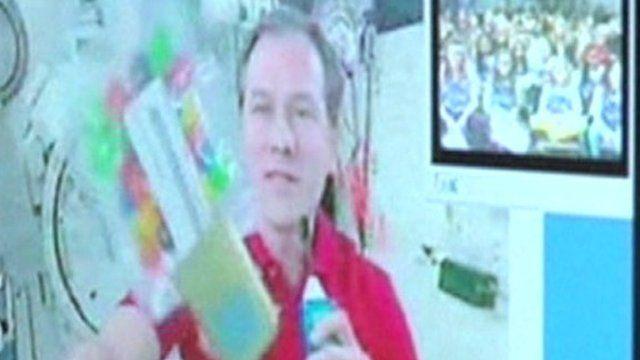 Nasa astronaut Tom Marshburn