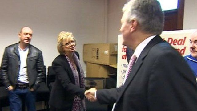 Julie Hambleton meets Peter Robinson