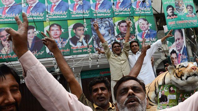 Nawaz Sharif supporters