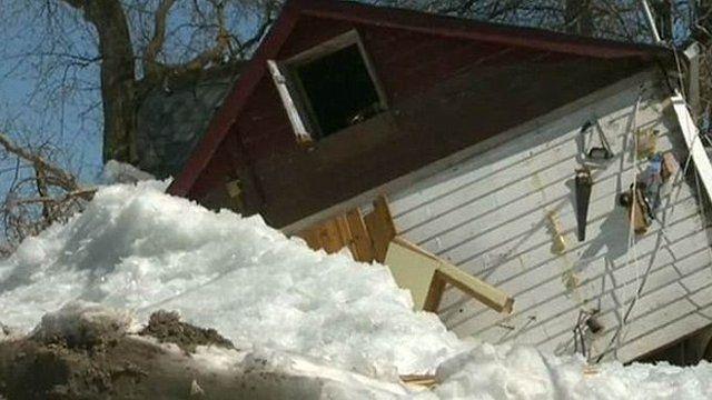 Home destroyed in Ochre Beach