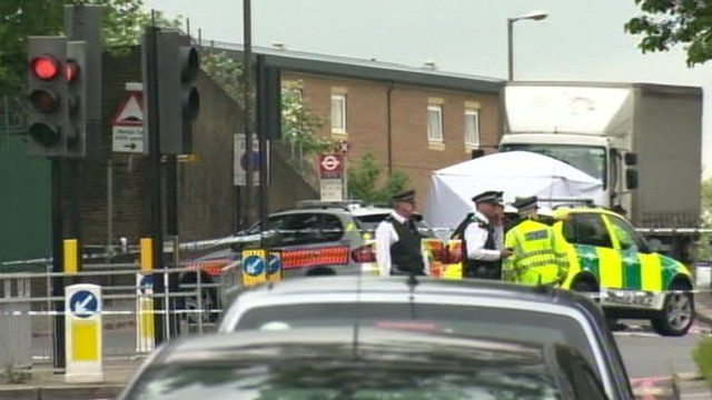 Police in Woolwich following attack