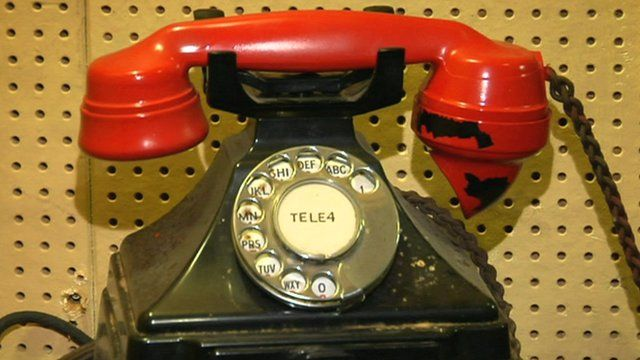 Winston Churchill's Liverpool phone hotline