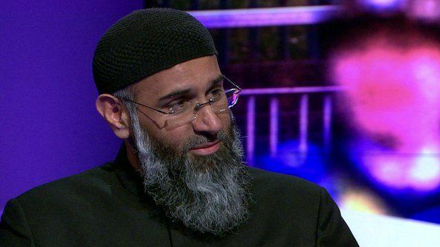 Radical Islamist preacher Anjem Choudary