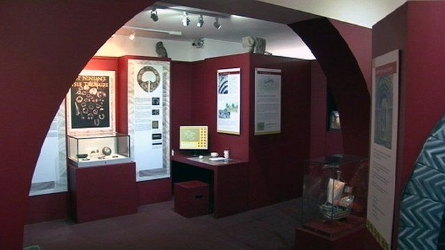 Whithorn story exhibits