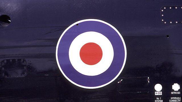 RAF target symbol