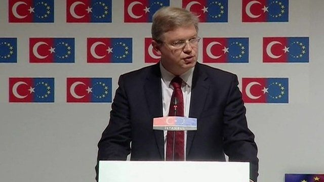 EU Enlargement Commissioner Stefan Fuele