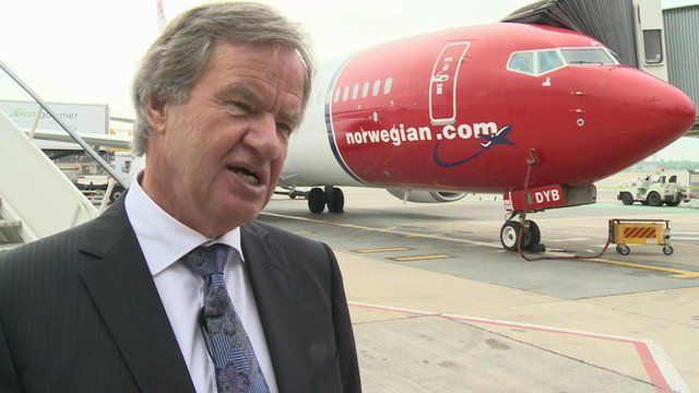 Norwegian Air Shuttle founder Bjorn Kjos