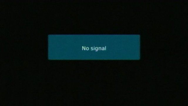 No signal error on Greece state television