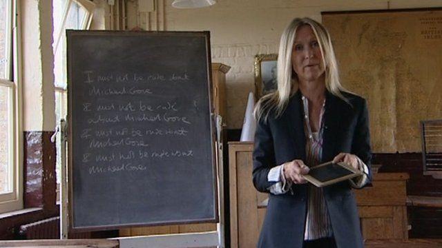 Fiona Millar in the classroom