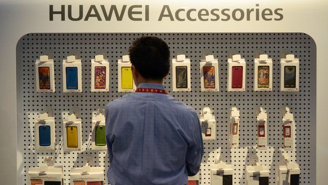Huawei's smartphone is entering a competitive marketplace