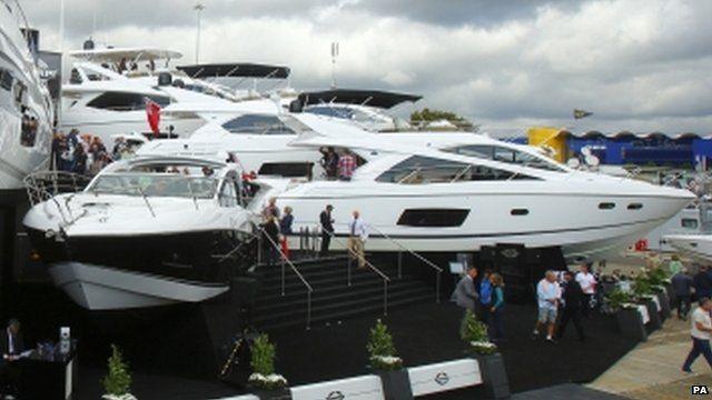Sunseeker yachts