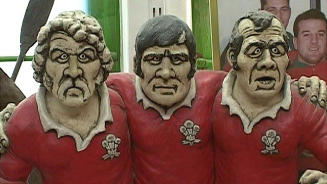 Wales front row