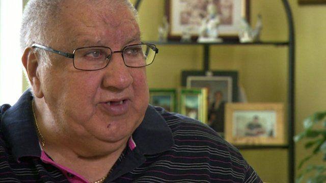 Chilean exile Leopoldo Garcia