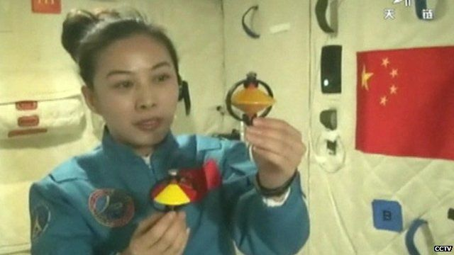 China's second female astronaut, Wang Yaping