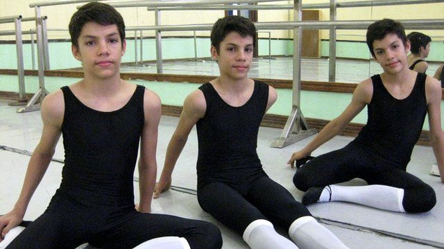 Cuba's dancing triplets