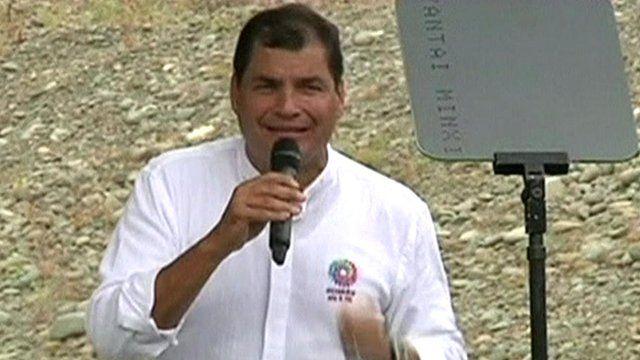 President Rafael Correa of Ecuador