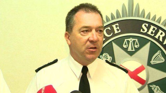 Northern Ireland Chief Constable Matt Baggott