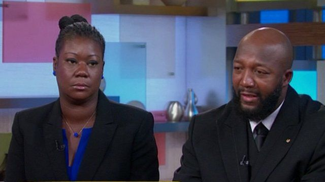 Sybrina Fulton and Tracy Martin