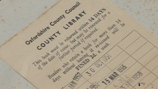 The copy of Regency Furniture returned to Oxford library 55 years late