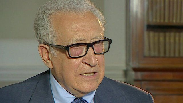 UN-Arab League special envoy to Syria, Lakhdar Brahimi