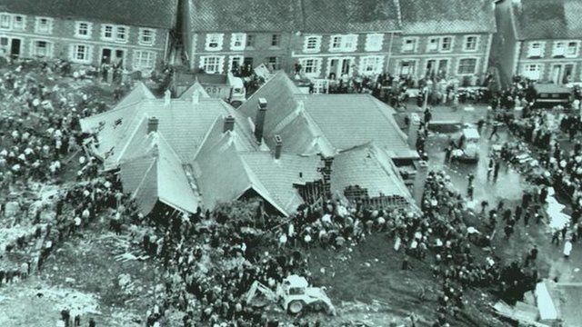 Pantglas Junior School, scene of the Aberfan disaster
