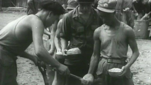 Korean War prisoners