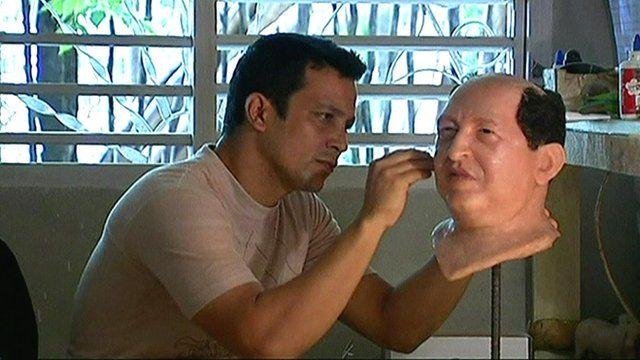 Chavez wax figurine