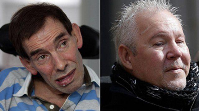 Tony Nicklinson and Paul Lamb
