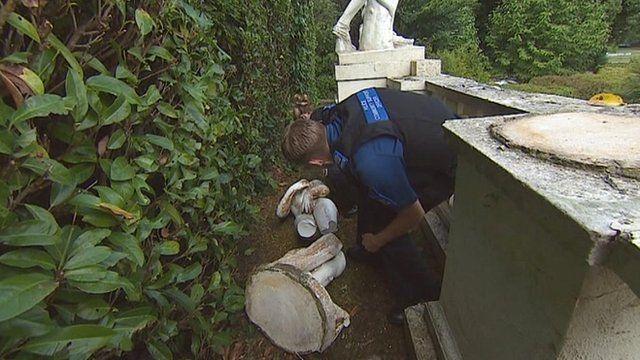 Police investigate damaged Venus