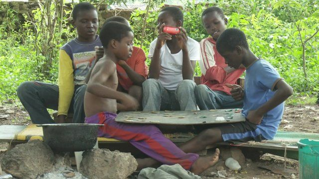 First generation Liberian refugees in Nigeria