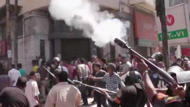 Gunfire in Alexandria