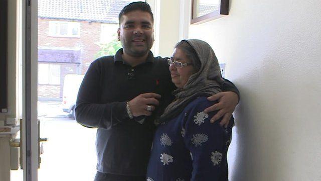 Naughty Boy and his mum
