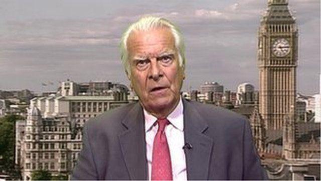 Former Foreign Secretary, Lord Owen