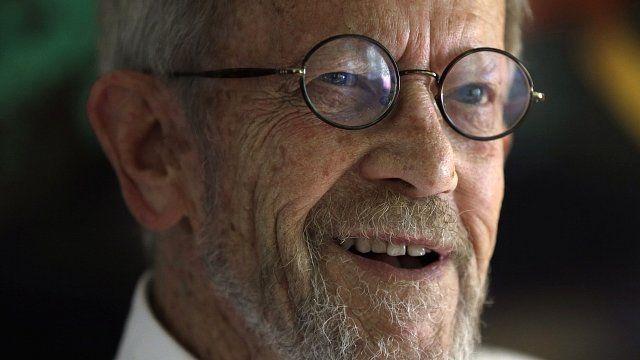 US crime novelist Elmore Leonard